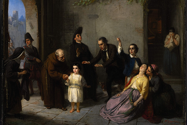 Oppenheim_-_Kidnapping_of_Edgardo_Mortara_-_1862