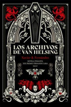 Cubierta_Los archivos de Van Helsing.indd
